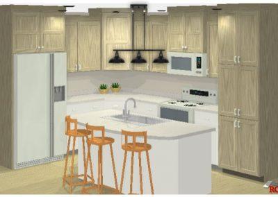 1871 3D Kitchen