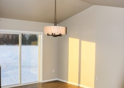 Living Room and Light Fixture, 1947 Longview Drive, Detroit Lakes, MN House For Sale