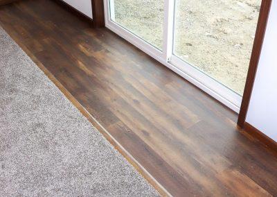 Floor Details Change from Carpet to Hardwood
