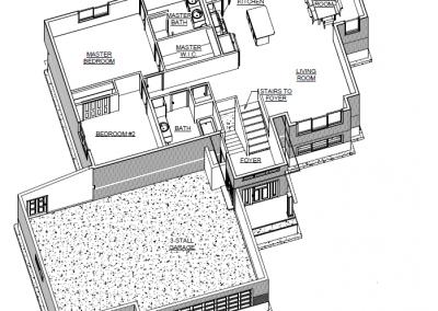 Upper Level Blueprints, 1947 Longview Drive, Detroit Lakes, MN House For Sale